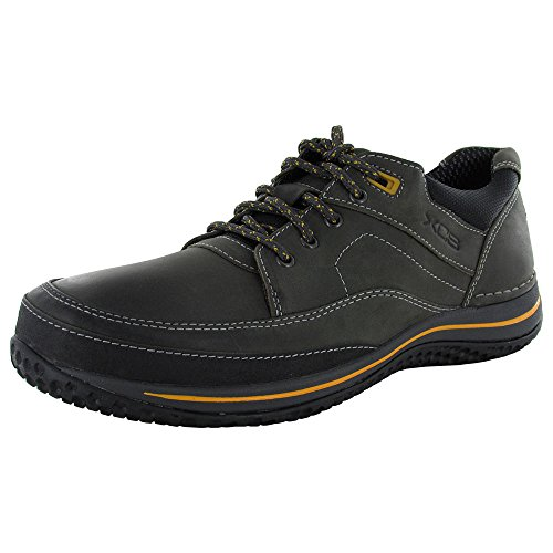 Rockport Men's Walk360 Walking Mudguard Oxford Castlerock/Yellow 10 M