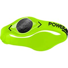Authentic Power Balance MLB Logo Silicone Wristband - Volt - Medium by Power Balance