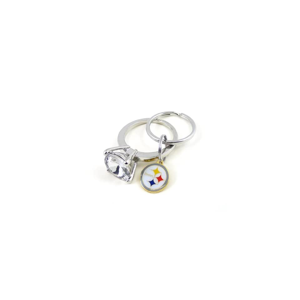 NFL Pittsburgh Steelers Jumbo Bling Keyring