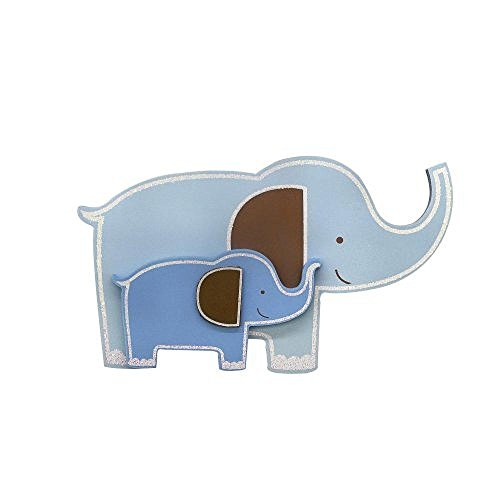Babies R Us By Design Elephant Wooden Wall Decor - 1
