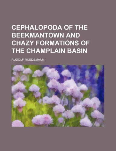 Cephalopoda of the Beekmantown and Chazy Formations of the Champlain Basin