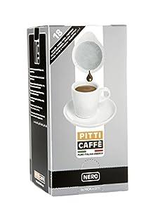 Pitti Caffe Nero Espresso Pods (Pack of 18)