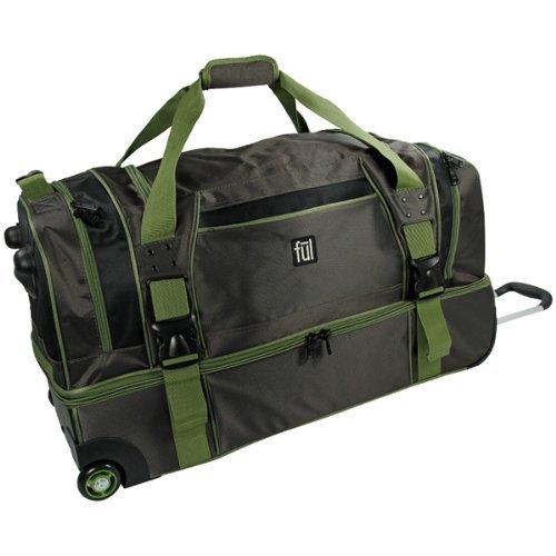Eurotravel Rollenreisetasche grün 494221