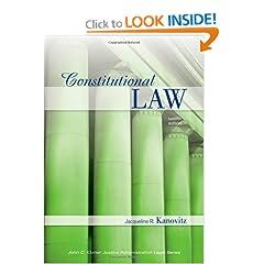 Constitutional Law - Jacqueline R. Kanovitz