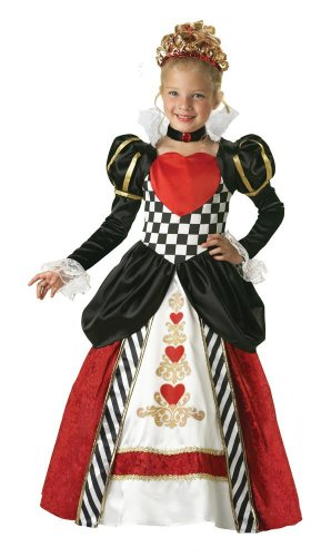 InCharacter Girls Queen of Hearts Kids Costume