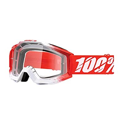 100% Accuri Goggles - Clear Lens-AAA