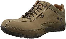 Woodland Mens Nubuck Leather Sneakers B00II0KJEQ