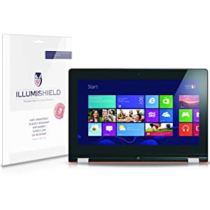 "Amazon.com : iLLumiShield - Lenovo IdeaPad Yoga 13"" Crystal Clear Screen Protectors with Anti-Bubble/Anti-Fingerprint - 2-Pack + Lifetime Replacements  images"