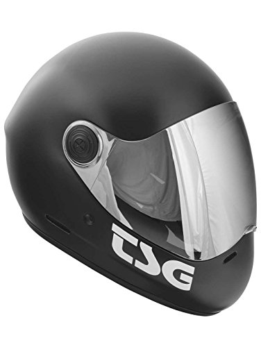 TSG Vollvisierhelm Pass Solid Color