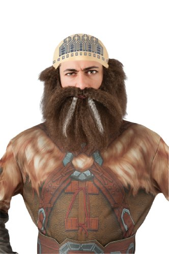 Rubie's Costume The Hobbit Dwalin Hair Kit
