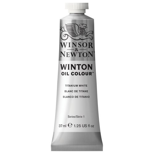 Winsor & Newton Winton Oil Colour Tube, 37ml, Titanium White