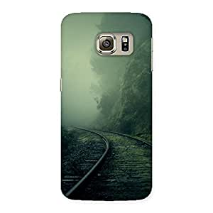 Fog Train Back Case Cover for Samsung Galaxy S6 Edge