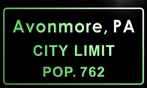 t80940-g-avonmore-borough-pa-city-limit-pop-762-indoor-neon-sign