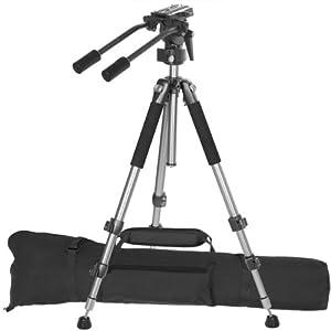 Ravelli AVT Professional 67-inch Video Camera Tripod with Fluid Drag Head