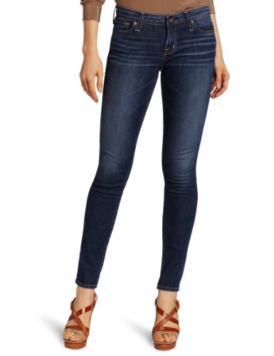 Big Star Women's Alex Mid Rise Skinny Jean, 10 Year Voyage, 26