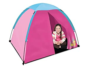 American Trails Kids Dome Tent with Floor, Solid Pink, 4-Feet x 3-Feet x 36-Inch