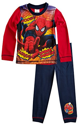 Spiderman -  Pigiama due pezzi  - ragazzo Multicolore Spiderman Sublime Drucken