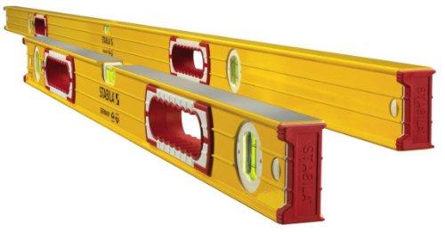 Stabila 37532 Jamber 78-Inch and 32-Inch Aluminum Box Beam Level Set
