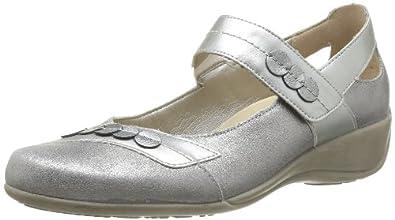 Remonte R9817 90, Chaussures de ville femme - Argent (Argent/Platine), 36 EU (3.5 UK) (5.5 US)