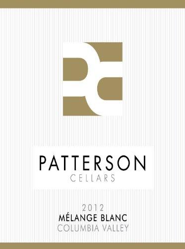 2012 Patterson Cellars Melange Blanc Sagecliffe Vineyard Chardonnay, Viognier, Roussanne Blend 750 Ml