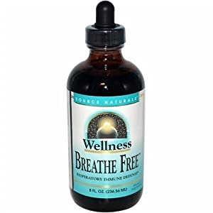 Source Naturals Wellness Breathe Free Syrup, 8 Fluid Ounce