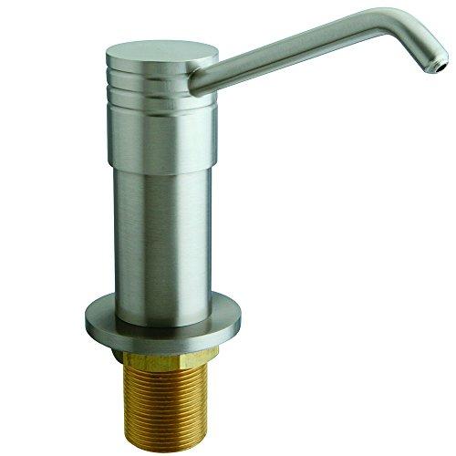 Kingston Brass SD2608 Milano Decorative Soap Dispenser, 12-1/4-Inch, Satin Nickel