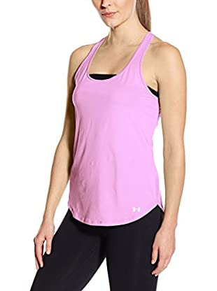 Under Armour Top Fly By Tank (Rosa)