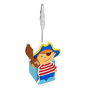 Detalles Infantiles - Pinza para tarjetas pirata marca La Lluna