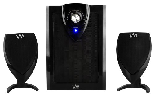 New Vm Audio Excs212 350 Watt 2.1 Home/Computer Multimedia Speakers System