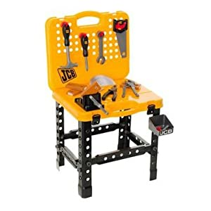 Jcb Kids Workbench Playset Amazon Co Uk Toys Amp Games
