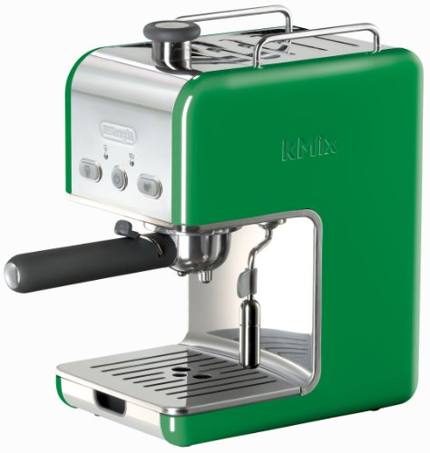 Fantastic Deal! DeLonghi Kmix 15 Bars Pump Espresso Maker, Green