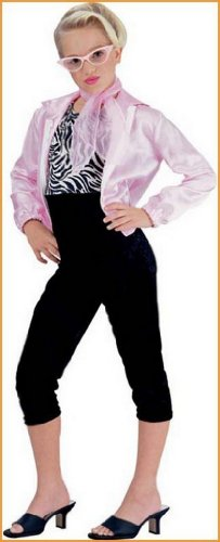 Pink Lady Children's Halloween Costumes. Size: Medium.