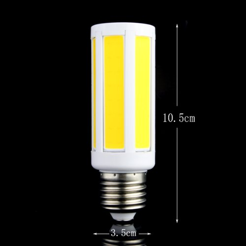 Yaho-Mall 160-240V E27/E14/B22 7W Cob 108 Led Warm White Bright Light Corn Bulb Lamp