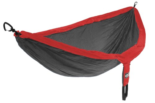 Eagles Nest Outfitters DoubleNest Camping Hammock, Red/Charcoal