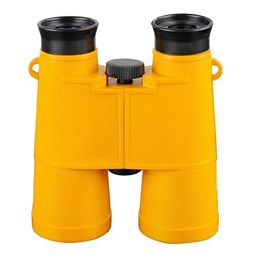 Beileshi 6X Magnificaiton Beach Surf Watching For Kids Toys Telescope Binocular(Yellow)