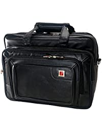 JEDEX Synthetic Leather Executive Office Bag/Laptop Bag, 16 InchesMN