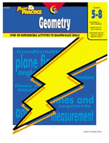 New Creative Teaching Press Power Practice Geometry 