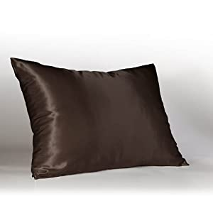 Amazon.com - Luxury Bridal Satin Pillow Case with