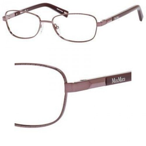 Max Mara MAX MARA Eyeglasses 1186 00Vm Pink Burgundy Purple 52MM