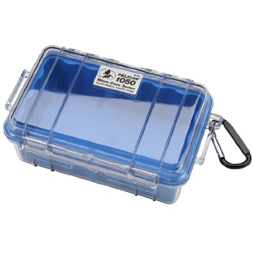 Pelican-1050-026-100-Small-Case-with-Clear-Lid-and-Carabineer-Blue
