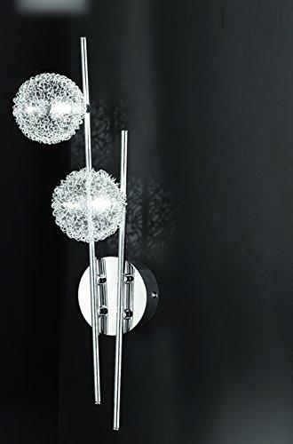 Applique a parete lampada Illuminazione per interni in metallo cromo Lampadari By Valastro lighting VAL030 4306.2.1