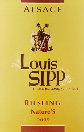 2012 Louis Sipp Nature'S Riesling 750 Ml