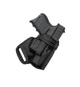 Galco SOB Small Of Back Holster for Glock 26, 27, 33 (Black, Left-hand)