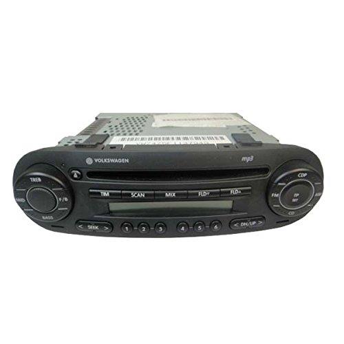 Volkswagen-Autoradio-gamma-CD-MP3-in-Blau