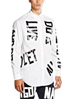 Love Moschino Camisa Hombre (Blanco)