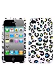 Protector Cover Case - Colorful Leopard for Apple iPhone 4 (AT&T) / iPhone 4 (Verizon) Phone