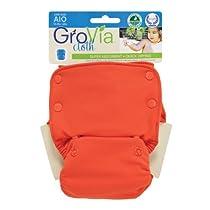GroVia All-In-One Cloth Diaper - Persimmon