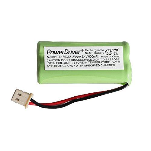 PowerDriver® Cordless Home phone Battery for VTech AT&T BT166342 BT-166342 BT266342 BT-266342 BT183342 BT283342 89-1347-01-00 8913470100 89-1347-02-00 8913470200 Compatible with American Telecom E30021CL E30022CL Dantona BATT-E30025CL BATTE30025CL
