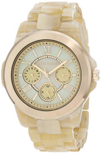 Vince Camuto VC/5030CMHN Montre bracelet Femme, Plastique, couleur: doré