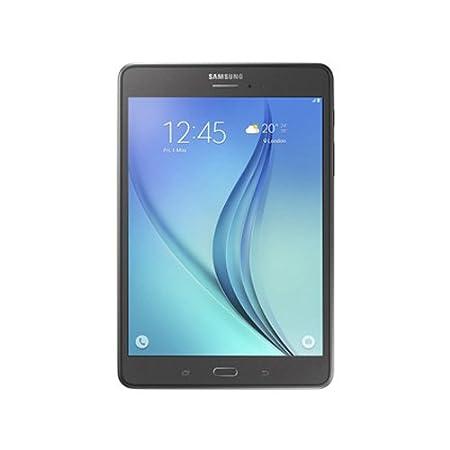 Samsung Galaxy Tab A SM-T355YZAAINS Tablet (WiFi, 3G), Smoky Titanium